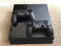 Shes PS4 500gb me 2 gjojstika fifa17 dhe gta 5