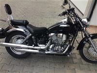 Yamaha DragStar 125cc ekstrem i rujtum