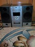 Radio me cd,kaset+fm stereo-AUX