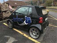 Smart brabus 600 cabriolet