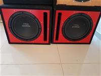 Subwoofer KENWOOD 3000Watts