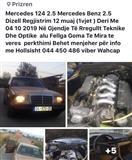 Shitet Mercedes 2.5 1 vit Regjistrim