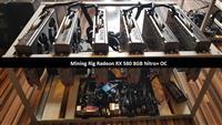 Mining Rig RX 580 8GB Nitro Plus OC