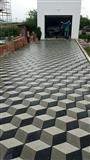 Bajm rregullimin e oborrev me kubza betoni