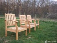 Tavolina dhe karrika nga druri