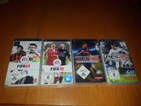 4 CD-ja per PSP