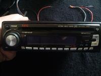 Radio per vetur AEG 100x4 me qip cd