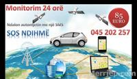 GPS e avancuar. Ndalon automjetin me SMS(59euro)