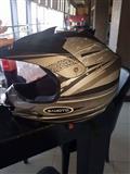 Helmet per motorr cros