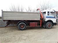 shes kamion mercedes benz 1630 kiper 10kubik+kran