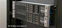 Server: 2x HP DL380p Gen8 / HP DL380 Gen5 / HP DL360 Gen5