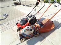 Makine per kositje te barit, rregullim te kopshtit