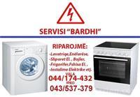 Servisim i të gjitha aparateve elektrike shtëpiak