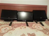 shiten 3 televizore bashke ose ndamas