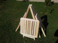 Karriga dhe tavolina
