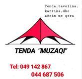 Tenda,tavolina,karrika & zërim me qera 044 687 506