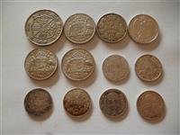 12 monedha argjendi