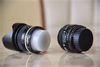 Nikon lens 50mm fx 1.4 & Nikon lens 35mm 2.8 fx