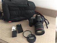 Canon 5D Mark II +Lensi+Blici+2 bateria+Qana