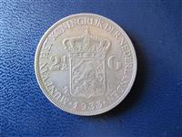Holande 2 1/2 Gulden 1933 argjend