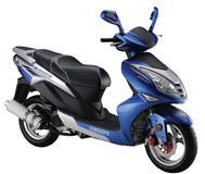 Motor scuter blu