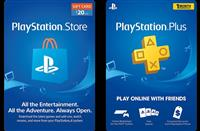 PS4 gift card dhe PS plus abonime