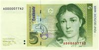 5 marka gjermane origjinale