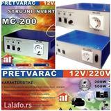 INVERTOR  MC200 Pretvarač  12V~220V