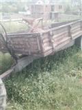 IMT 1539 shitet traktorri me rimorkio me pllugj