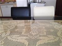 Tavolinë me 6karrika