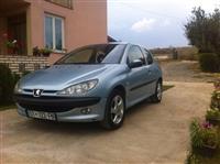Peugeot 206 2.0 hdi 11 muj rks viti 2002 me servis