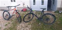 Bicikletat X - Zite gomat 28, Trek 4300 gomat 26