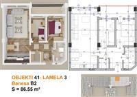 Banesa 86.5m2 kati 2 te MODEL SLOVENIA