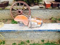 Motorr per prerjen e betonit