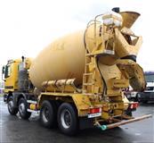 Shes cement mixer mercedes actros