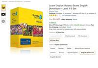Learn English: Rosetta Stone English Level 1-5 Set