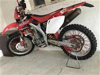 Honda 450 motocross