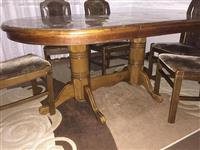Tavolin e bukes