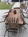 Shitet Tavolina me 6 karrige per Oborr