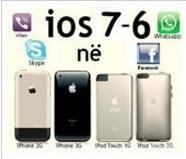 IOS 7 në iPhone 3G