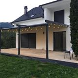 Përgola, veranda dhe xhama me telekomand
