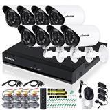 8 Kamera 900 TVL me te gjitha paisjet te reja