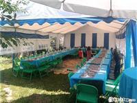Tenda(shatora), karrika, tavolina dhe cadra