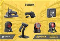 Sunlux Barcode scanner 1 vit garancion