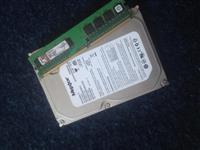 Hard disk dhe memori kart
