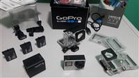 GoPro HERO4 Silver + 3 batteries + 2 cases