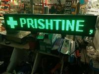 LED reklame per barnatore 1m me 20 cm e gjelber