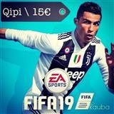 Qipi per PS3 \ 10 loj \ 15€ \ * Fifa 19 + 9 loj *