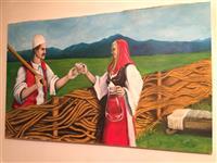 "Pikture ""tradita shqiptare"""