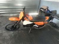 full cross suzuki 125 cc